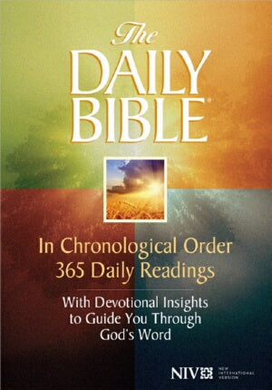 NIV* Daily Bible In Chronological Order-HC (Aug)