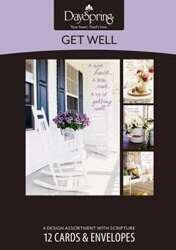 Get Well-Sunny Days Boxed Cards