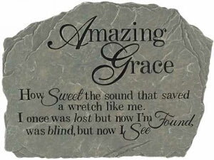 "Amazing Grace Stepping Stone (10.5"")"
