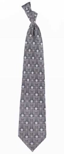 Crossover  Blu/Gray (100% Silk) Tie