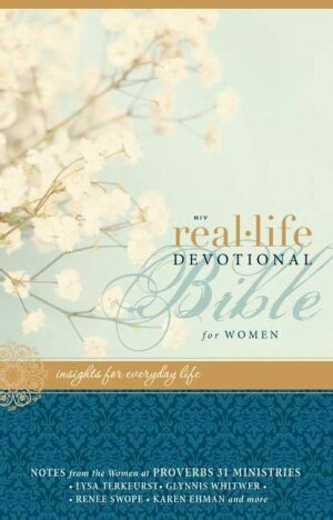 NIV*Real-Life Devotional Bible/Women-HC (Mar)