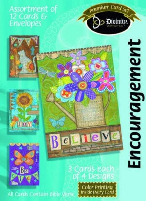 Encour-Believe Boxed Cards