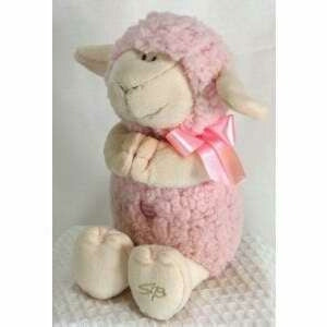 "Plush Musical Lamb/Jesus Loves Me (9.5"")-Pnk"