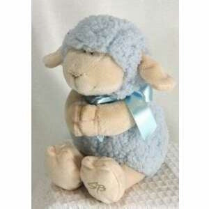 "Plush Musical Lamb/Jesus Loves Me (9.5"")-Blu"