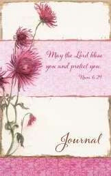Lords Mercies/Pink Flowers-Flexcover Journal
