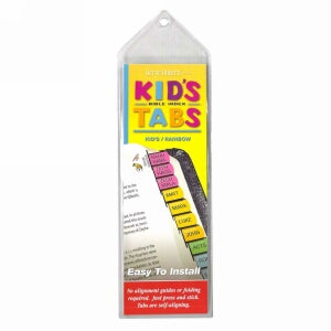 Bible Tab-Verse Finders-Horizontal-Thin Pack-Kids
