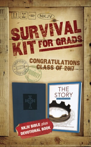 NKJV 2017 Survival Kit For Grads (Blue - Boys' Edition)
