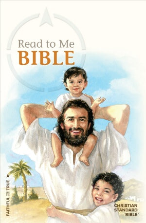 CSB Read To Me Bible-Hardcover (Aug)