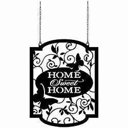 Flag-Garden-Home Sweet Home (Metal) (13 x 10.25) (