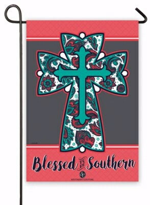 Flag-Garden-Blessed To Be Southern (12.5 x 18) (Ja