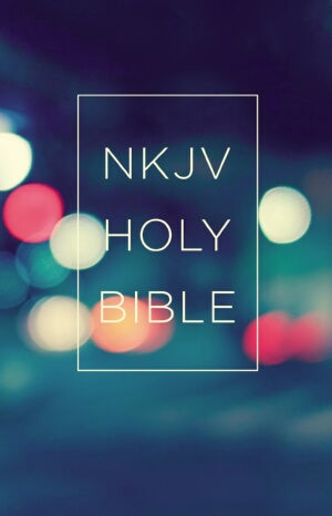 NKJV Value Outreach Bible-Urban Scenic Softcover