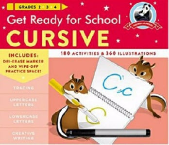 Get Ready For School: Cursive