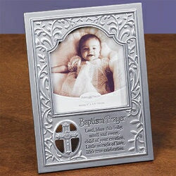 Photo Frame-Baptism Prayer