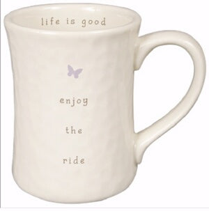 Mug-Perfect Simplicity-Enjoy The Ride (Box Of 4)
