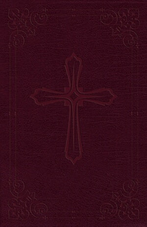 NIV Compact Bible-Burgundy LeatherSoft