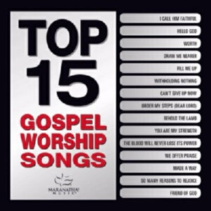 Audio CD-Top 15 Gospel Worship Songs (Jan)