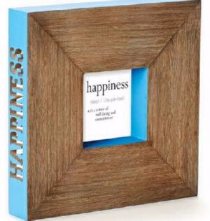 "Happiness-Blue (10"") Frame"