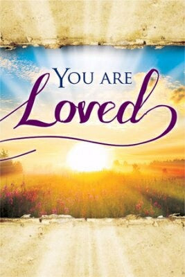 You Are Loved Easter Share Booklets (Pack Of 12)