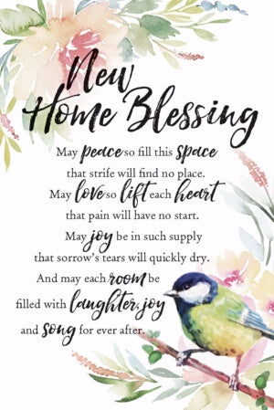 Plaque-Woodland Grace-New Home Blessing (6 x 9)