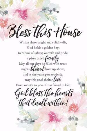 Plaque-Woodland Grace-Bless This House. Within (6