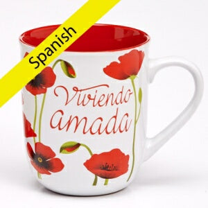 Mug-Woman Of God/Living Loved (Jer. 31:3 RV)-Spanish