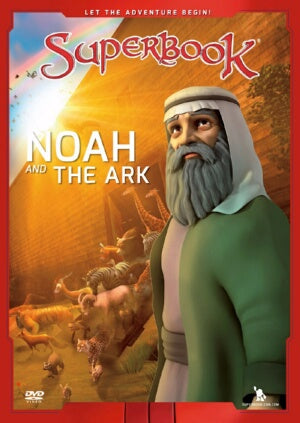 Noah And The Ark (SuperBook) DVD