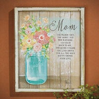 Wall Plaque-Mom (9 x 11)