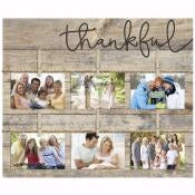 "Photo Frame-Clothesline Clipboard-Thankful (21"" x"