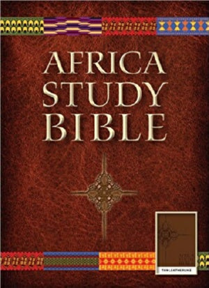 NLT2 Africa Study Bible-Brown LeatherLike (Mar)