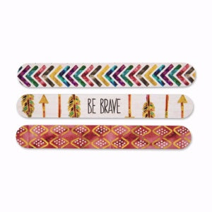 Emery Boards-Simple Inspirations-Be Brave (Pack Of