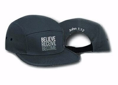 Believe Receive Become-One Size-Gray (Case For Cap