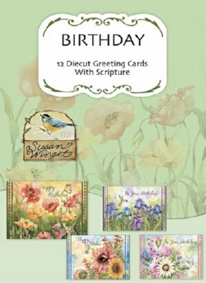 Card-Boxed-Birthday-Nature's Grace (Box Of 12)