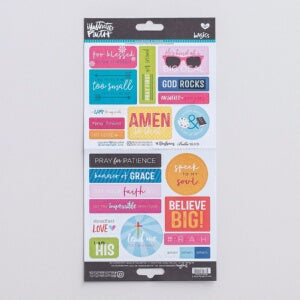 Bible Journaling-Cardstock Stickers-Go And Tell 2