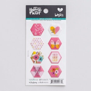 Bible Journaling-Epoxy Stickers-Hexies-One In A Me