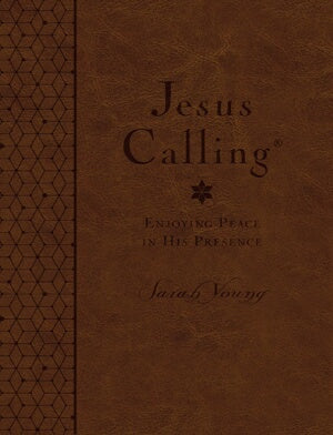 Jesus Calling (Deluxe Edition) Large Print-Brown L