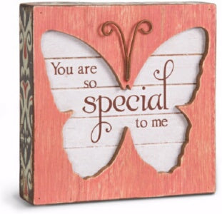 Plaque-Butterfly-Someone Special (4.5 x 4.5)