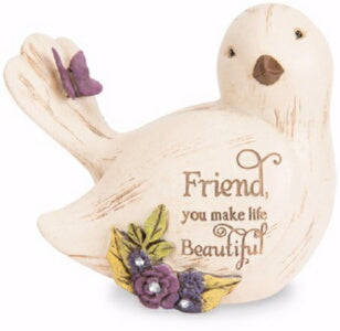 Figurine-Bird-Friend  You Make Life Beautiful (3.5