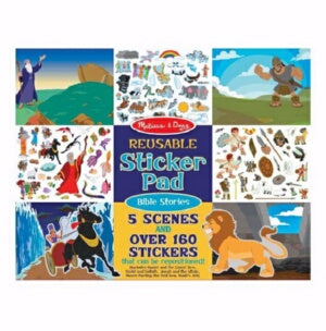Reusable Sticker Pad: Bible Stories (Ages 3+)