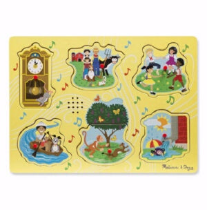 Sing Along Nursery Rhymes 1 Sound Puzzle (6 Puzzle
