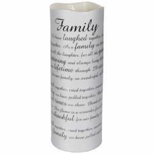 Flameless Flicker-Sonnet-Family w/Timer-Van Candle