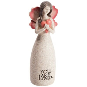 "Figurine-Angel Blessings-You Are Loved (5.25"" x  2"