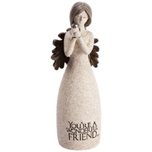 Figurine-Angel Blessings-You're A Wonderful Friend