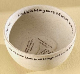 "Prayer Bowl-Faith Stone (2.7"")"