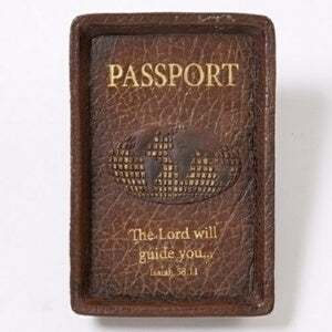 "Keepsake Tray-Passport/The Journey (1""H)"