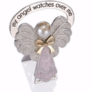 Child Bedside Angel-My Angel Watches Over Me-Pink