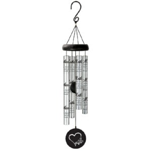 "Wind Chime-Sonnet Chime-Mother-Silver (21"") (Berea"