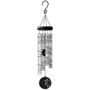 "Wind Chime-Sonnet Chime-Amazing Grace-Silver (21"")"
