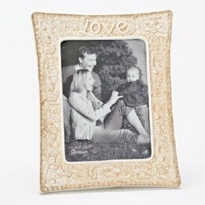 "Love-Vertical (9.75"" H) Frame"
