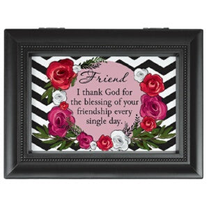 Music Box-Friend/I Thank God.../Recordable (8 x 6)