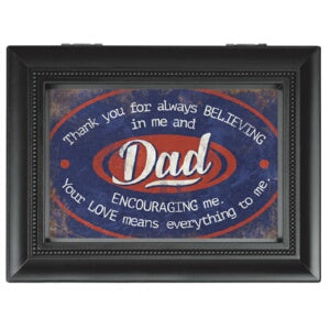 Music Box-Dad/Thank You.../Recordable (8 x 6)